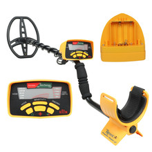 MD 6350 Metal Detector Professional Underground Gold Detector LCD Display 11inch Waterproof Coil Many Detection Modes