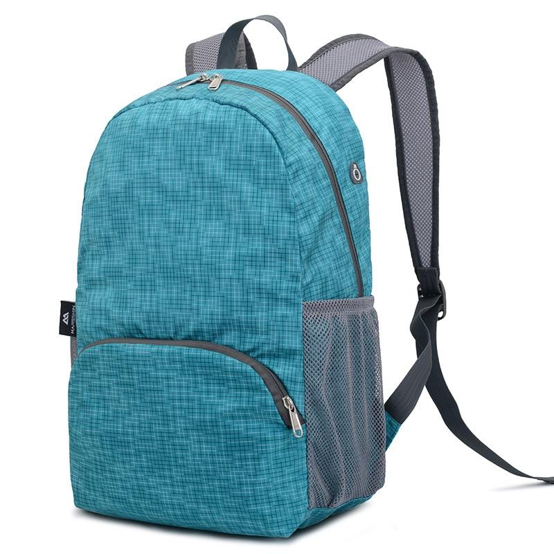 Marsskin Backpack Ultra-Light Folding Outdoor Backpack Mountain Climbing Hiking Backpack Small Waterproof Lightweight Travel Bag