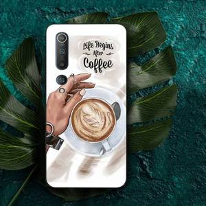 Image 5 - MaiYaCa Fashion coffee women Phone Case for Redmi Note 4 5 6 8 9 pro Max 4X 5A 9S case