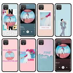 Pink Harry Styles-funda de teléfono para Google Pixel 4 XL 4A 5G Pixel 5, Fundas blandas de silicona de lujo, funda negra