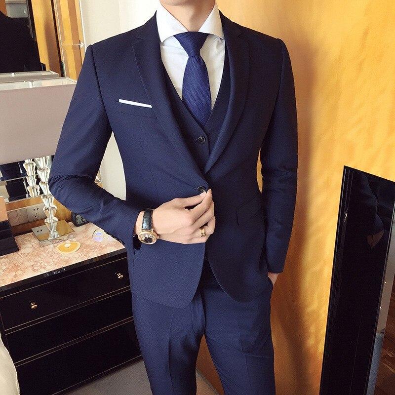 celebration : Light Grey Tuxedo Men Suits for Wedding 2Pieces Business Suit Blazer Peaked Lapel Costume Homme Terno Party Suits jacket pant