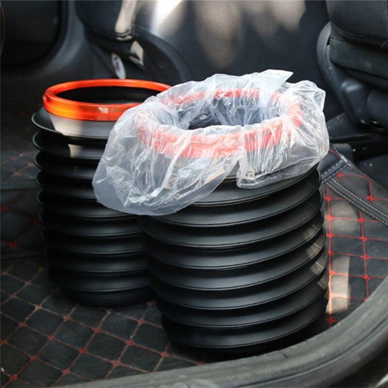 Car Folding Barrel Trash Can For DACIA SANDERO STEPWAY Dokker Logan Duster Lodgy