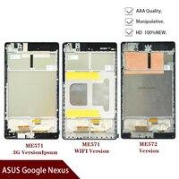 Dla ASUS Google Nexus 7 2nd 2013 FHD ME571 ME571K ME571KL ME572 ME572CL K008 K009 wyświetlacz LCD montaż digitizera ekranu dotykowego