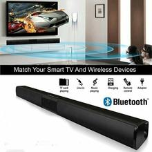 Draadloze Bluetooth Sound Bar Speaker Systeem Tv Home Theater Soundbar Subwoofer 4 Speakers 3D Stereo Surround