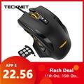 TeckNet 16400DPI Optische Ergonomische Mäuse 2,0 USB Gaming Maus 10 Tasten Omron Micro Schalter Für Computer PC Laptop Desktop