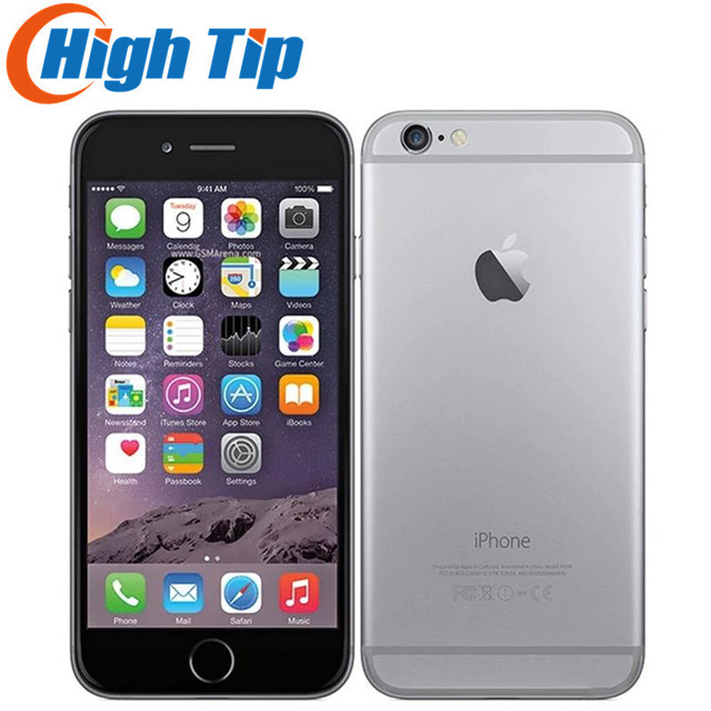 Original Apple iPhone 6 Sealed Box Factory Unlocked Smartphone Dual Core 4.7 Inch 128GB ROM 8MP Multi-Touch WCDMA 4G LTE Phone 1