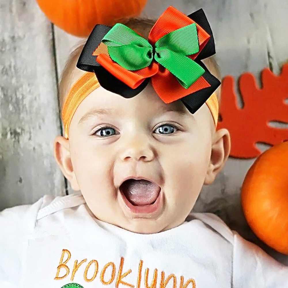 Diadema para bebé niña cinta para niños pequeños accesorios para el cabello recién nacido lazo tiara turbante vendaje para la cabeza de navidad regalo