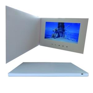 "Image 4 - Customization Smart 10"" LCD USB Smart Flip 1080P Color Screen LCD Video Photo Xmas Greeting Card Media Player"
