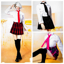 1/6 Female Uniform Set Students Suit Clothes Set Girl's School Dress Suit Set A/B/C Colors for 12 inches Action Figure Accessory(China)