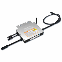 Микроинвертор 200 Вт на сетке, вход Inversor, 18-50VDC водонепроницаемый IP65 Солнечный микро инвертор