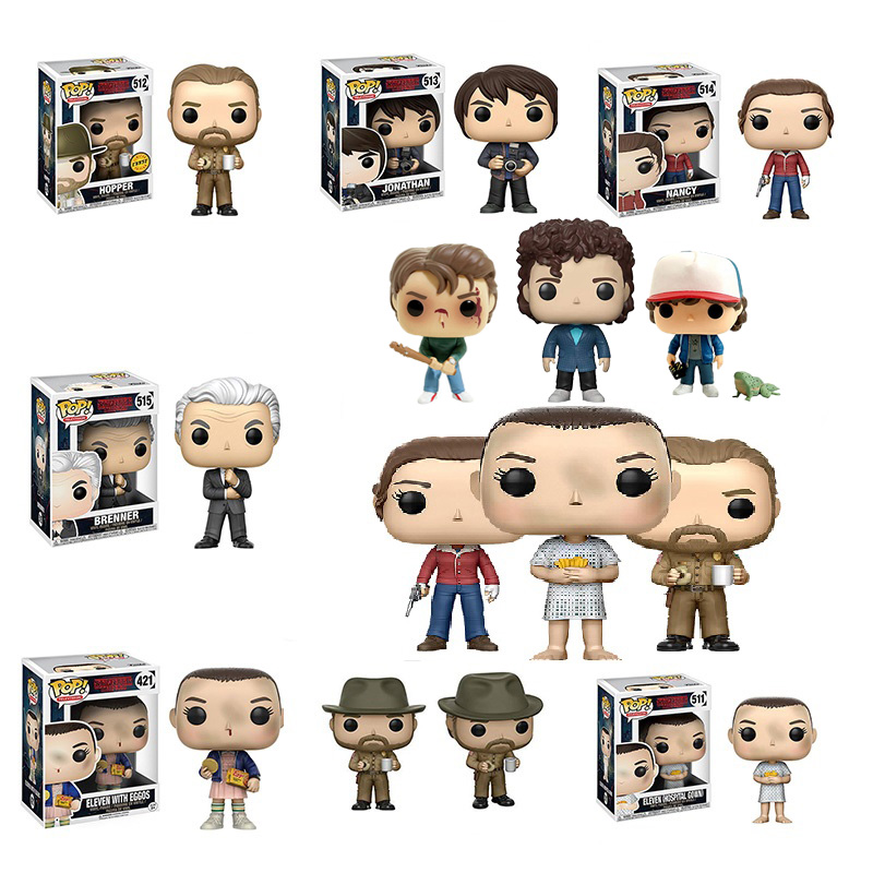 Funko POP Stranger Things  Anime Figure  Action Figure Hot Sale Item Christmas Gift For Children Anime Figure  Toys For Children