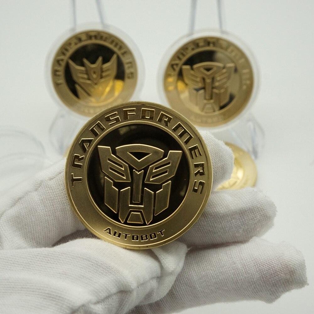 Позолоченные и посеребренные монеты, круглые сувенирные монеты с изображением Американского героя-мстителя