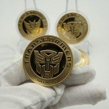 Gold&Silver plated Coins Round American Hero Avenger Movie Souvenir coin printio american hero