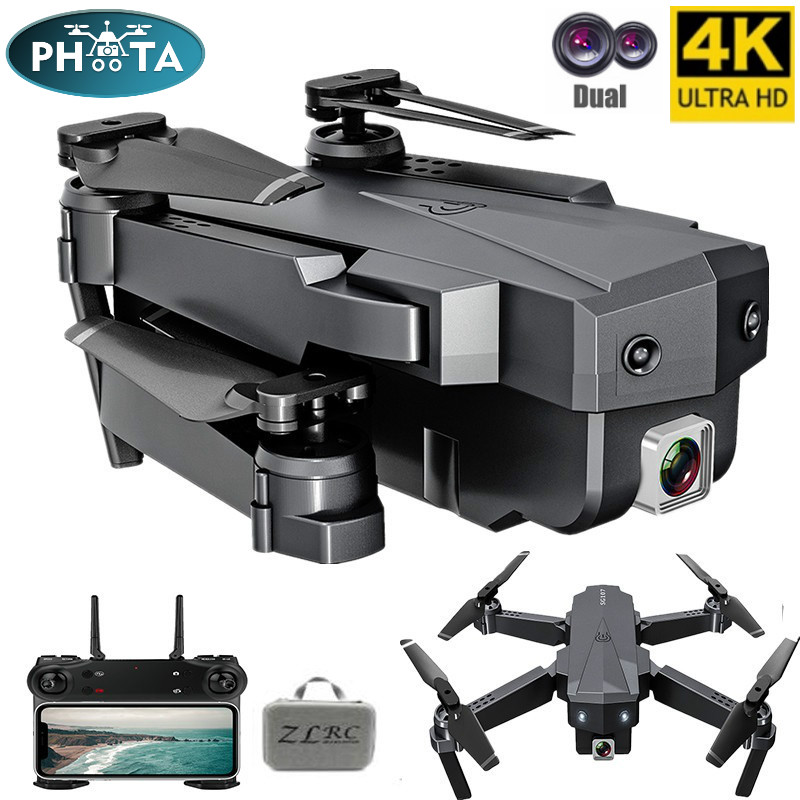 2020 SG107 Mini Drone 4K with HD Camera WIFI 1080P Dual Camera Follow Me Quadcopter FPV Drone Long Battery Life Altitude Hold RC