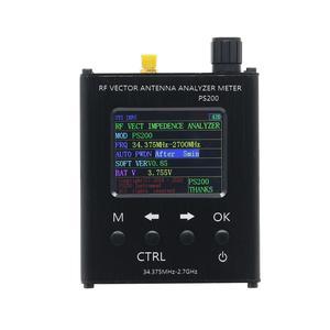 Image 4 - TZT N1201SA + 35MHz   2.7GHz UV RF anten analizörü SWR metre test cihazı alüminyum alaşım kabuk ile PS100/PS200