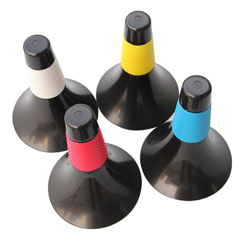 Thicken Soccer Training Marker Football Roadblocks Sign Bucket Triangle Road Cone Obstacles Marker Soccer Speed Train Pile