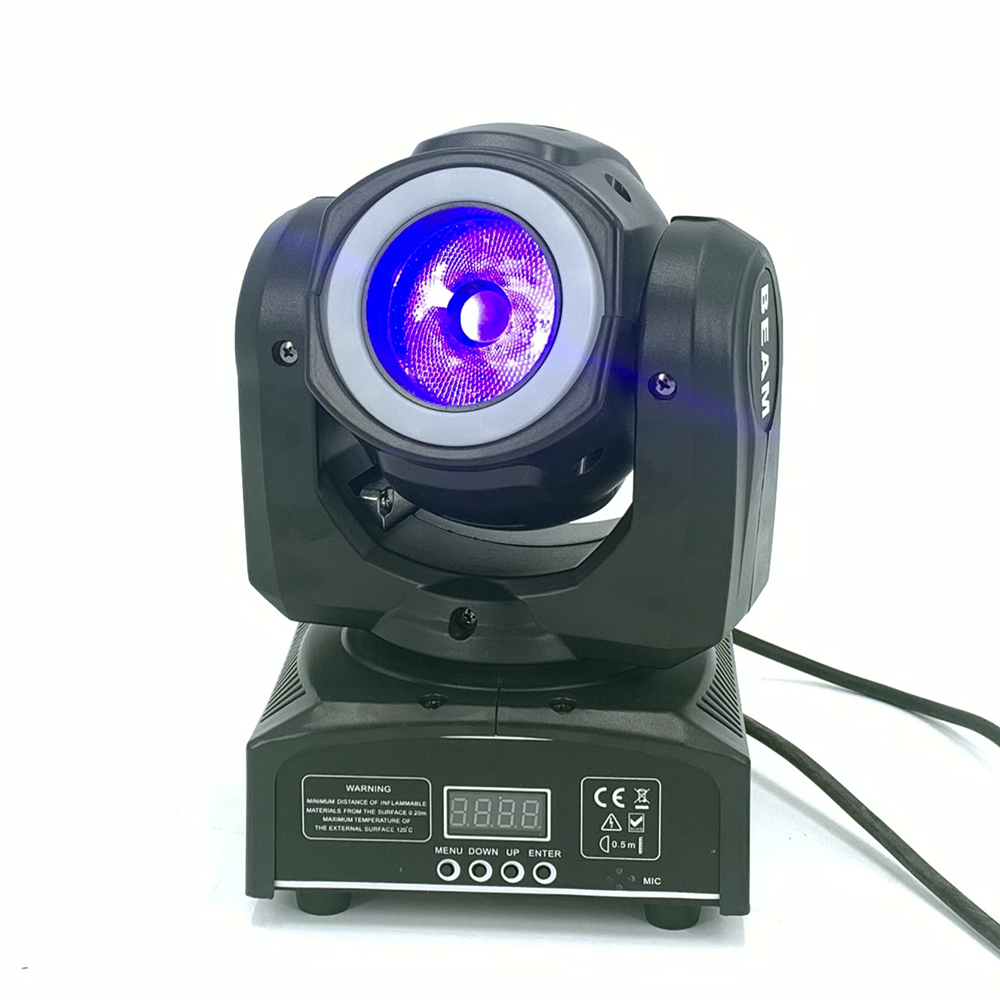 Dj Beam Mini Moving Head 65W Met 12LED SMD5050 Rgb Led Licht Super Heldere 60W Led Dj Spot licht Dmx - 4