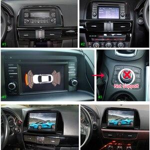 Image 3 - SINOSMART поддержка собственной системы парковки 1 г/2 г Автомобильный gps навигационный плеер для Mazda 6 Atenza/CX 5 32EQ процессор для цифровой обработки сигналов 4 г опционально