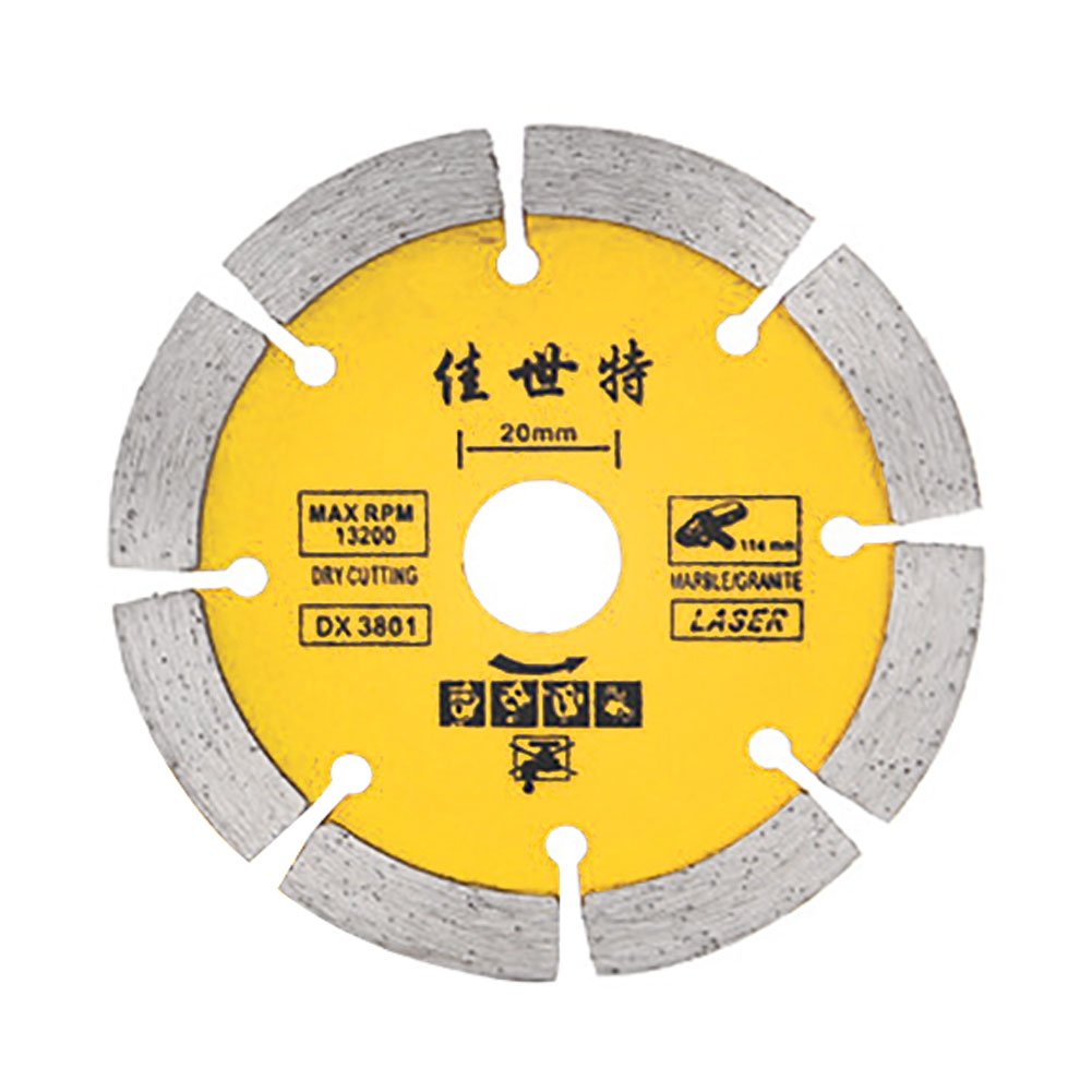 114mm Cutting Disk Wheel Diamond Stone For Angle Grinder Circular Durable Concrete Saw Replacement Practical Accessories Tool