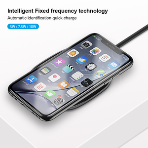 Image 5 - Mini Fast QI Wireless Charger Pad For Huawei Xiaomi Samsung S10 Plus S9 S8 Note 10 9 iPhone 11 Pro Max X XR XS Cordless Charging
