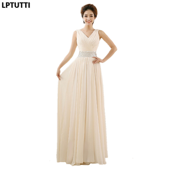 LPTUTTI Beading Sequin New Vintage Princess Marriage Gown Boho Simple Luxury Weddings Events Wedding Party Bridesmaid Dresses