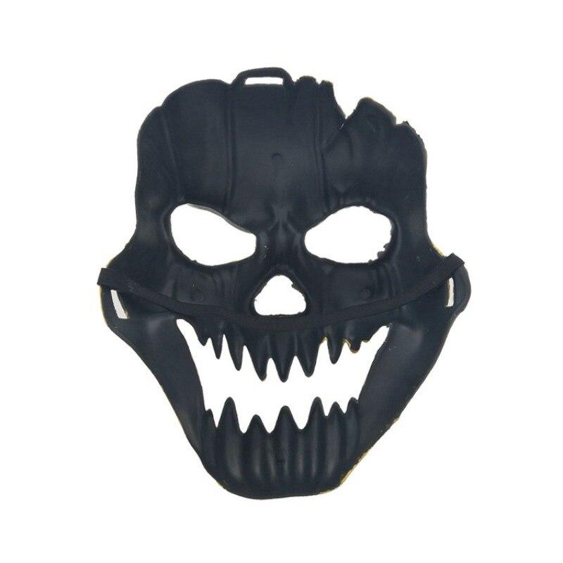 Хэллоуин металлический пластиковый череп маска Золото Серебро высокое качество полное лицо череп маски предметы для вечеринок бутафория д... - 6