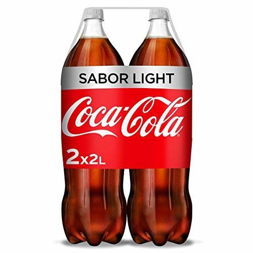 Refresco De Cola Coca Cola Light Pack 2 Botellas 2 L