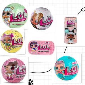 1 шт. куклы LOLs L. O. L. Сюрприз! Куклы Домашние любимцы куклы серии 1 2 3 волосы цели под деформацией конфетти POP LIL SISTER dolls
