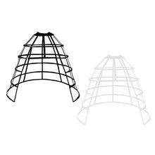Enagua de Cosplay para niñas, falda de espina de pescado, jaula de pájaros con volantes hueca