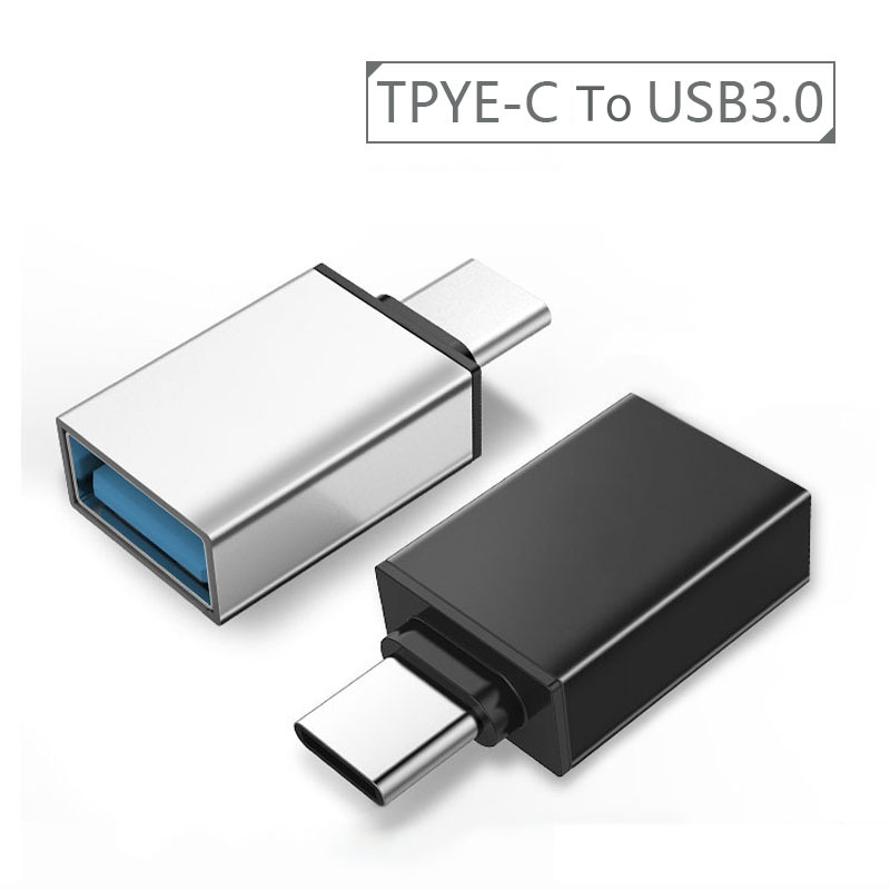 Type C Adapter USB-C Type-C to USB 3.0 Converter Phone OTG Cable for Samsung S8 S9 Note 8 Huawei Mate 9 P20 Xiaomi Mix 2S USB C