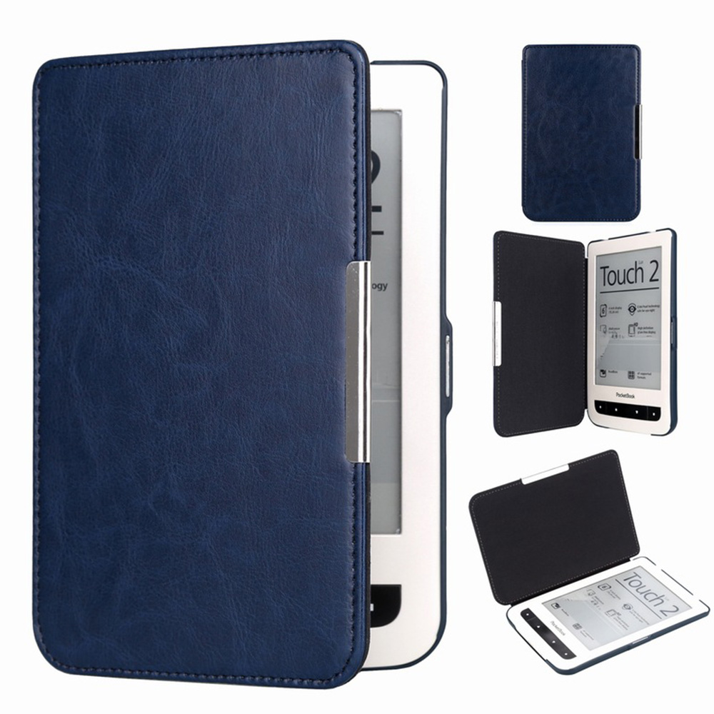1pc Protective Shell For Pocketbook Basic Touch Lux 2 614/624/626 Pocketbook 626 Plus Pu Leather Ereader Case