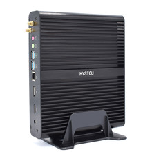 VENOEN-ordenador de sobremesa Mini pc Intel core i7 10510U 8550U 8565U, Windows 10pro, DP-HD, DDR4, HTPC, sin ventilador