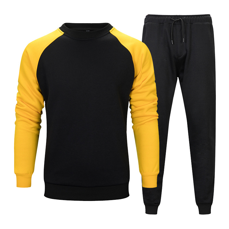 Brand New Men Sets Fashion Autumn Spring Sporting Suit Sweatshirt +Sweatpants Male Clothing 2 Pieces Sets Slim Tracksuit Man