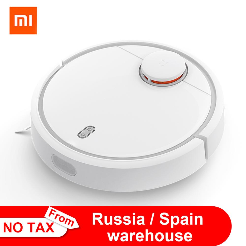 Original Xiaomi MI Robot Vacuum Cleaner MI Robotic Smart Planned Type WIFI App Control Auto Charge LDS Scan Mapping Vacuum Cleaners    - AliExpress