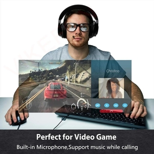 Image 4 - Bluetooth 5.0 + USB Máy Phát Âm Thanh Có Mic Aptx LL Độ Trễ Thấp Bass Sâu Tai Nghe Không Dây Tai Nghe Nhét Tai Dành Cho Tivi PS4 PC