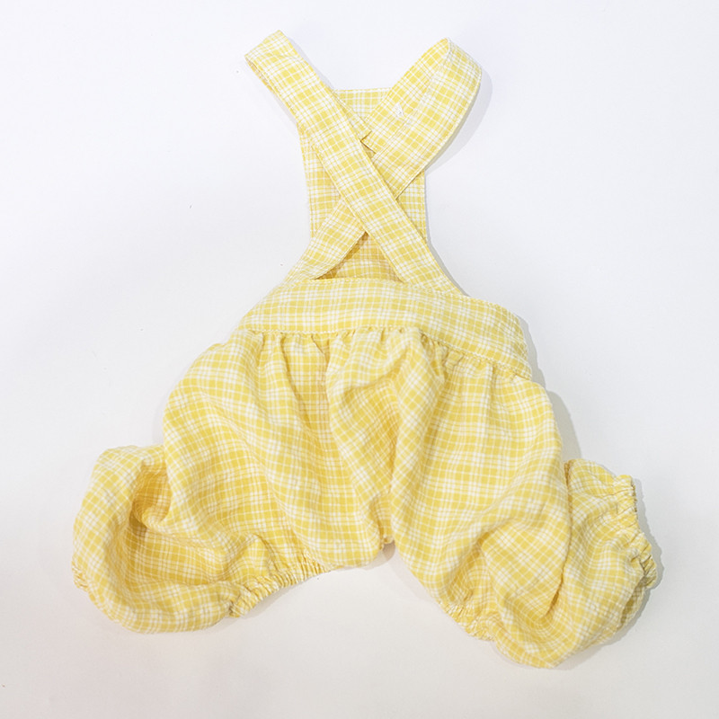 puppy jumpsuit set summer clothes dogs (3)