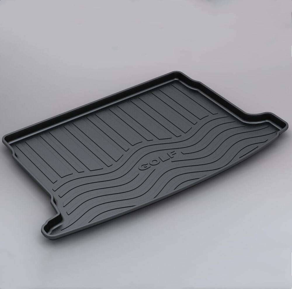Trunk Mats Customized Car Rear Trunk Storage Mat Cargo Tray Trunk Waterproof Protective Pads Mat Compatible For VW Golf 6 MK6