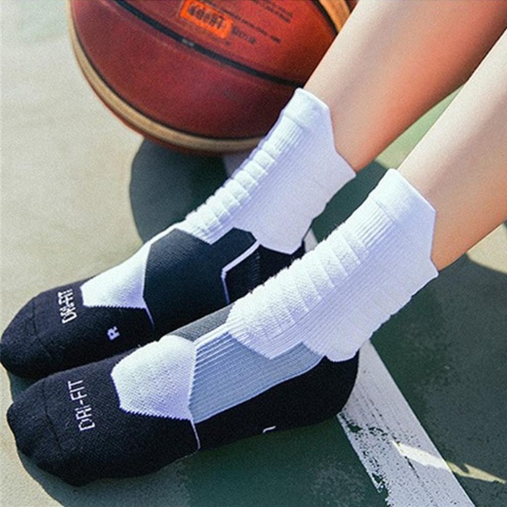 Unisex Cotton Men's Running Socks Women Cycling Riding Socks Breathable Football Basketball Sports Socks Elastic Adult Stocking