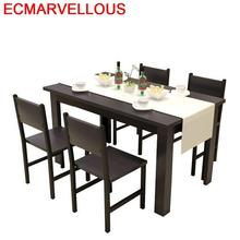 лучшая цена Salle Manger Moderne Sala Eet Tafel Pliante Marmol Set Tisch A Langer Dinning Wood De Jantar Bureau Mesa Comedor Dining Table
