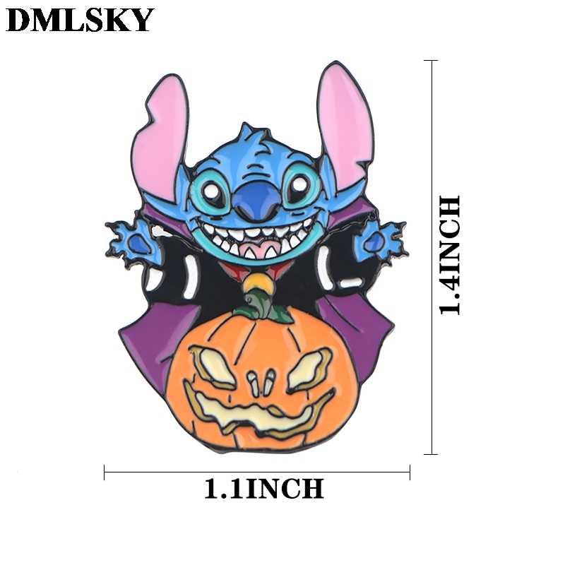DMLSKY 1pcsการ์ตูนแมวสุนัขโลหะเคลือบPinsสัตว์เข็มกลัดชุดสำหรับชุดกระเป๋าเป้สะพายหลังBadgeเสื้อผ้าคอสเพลย์Pins M4107