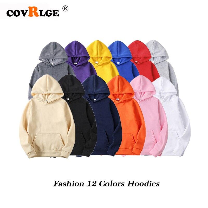 Fashion Brand Men's Hoodies 2019 Spring Autumn Male Casual Hoodies Sweatshirts Men's Solid Color Hoodies Sweatshirt Tops MWW206