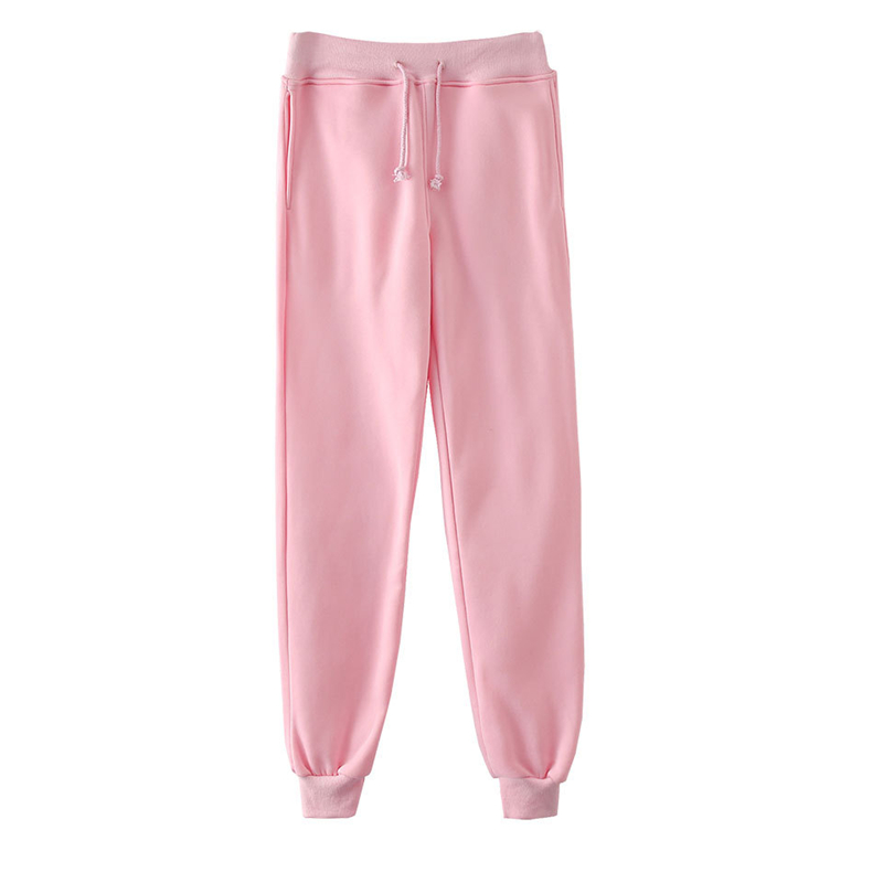 Pink Pants Men Casual Joggers Baggy RIbbon Trousers Harajuku Streetwear Unisex Hip Hop Sweatpants Elastic Multicolor Pant 4XL