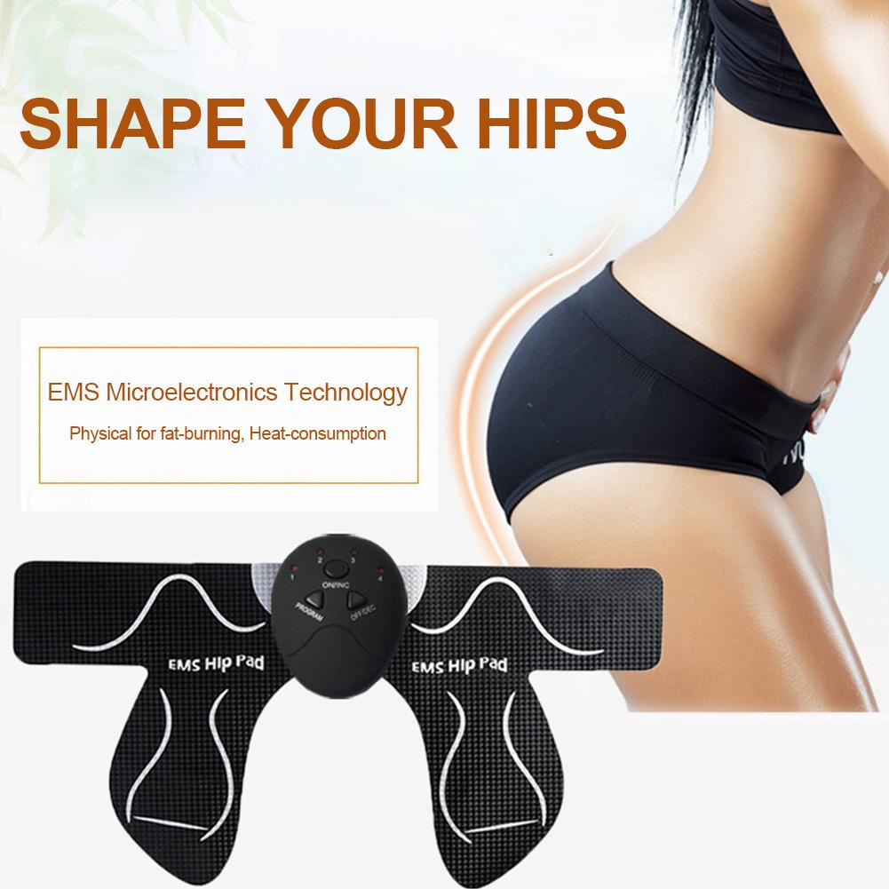 USB Rechargeable Smart Buttocks Training Device Intelligent Micro-electric Butt Hips Trainer Portable Buttocks Slimming Stickers