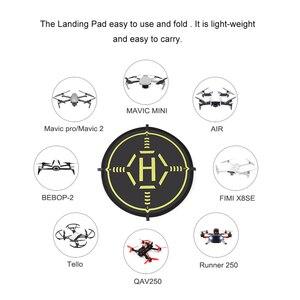 Image 2 - STARTRC 56CM Tragbare Faltbare Landung Pad Für DJI Mavic Mini DJI Phantom Mavic Drone FIMI X8SE 2020 Für RC quadcopter