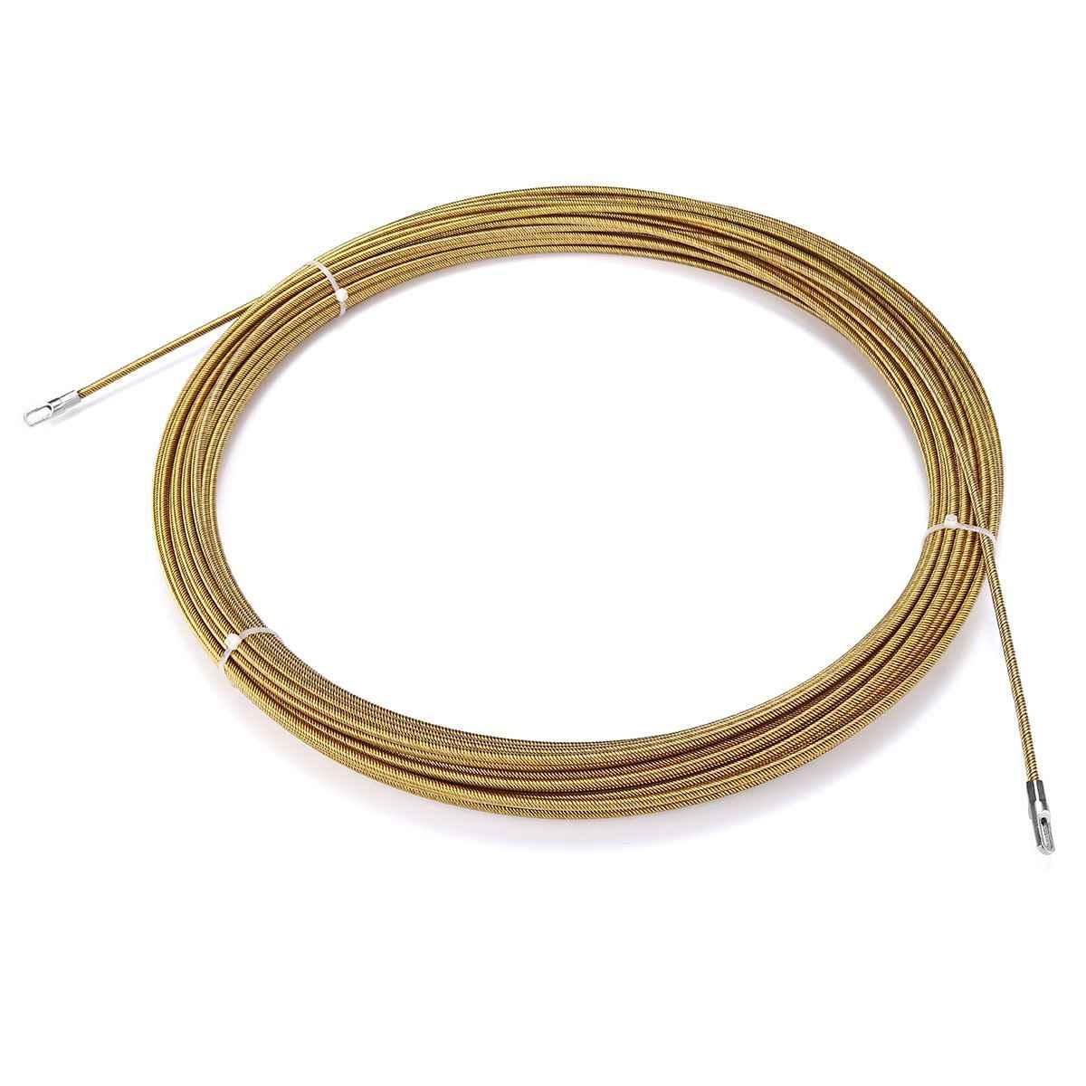 3/4mm 5 mètres à 30 mètres dispositif de guidage en métal en Nylon câble électrique poussoirs conduit serpent rongeur fil de bande de poisson