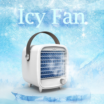 Household Mini Air Conditioner USB Personal Space Cooler Portable 7 Color LED Air Cooler LCD Digital Display Desktop Fan personal page 7