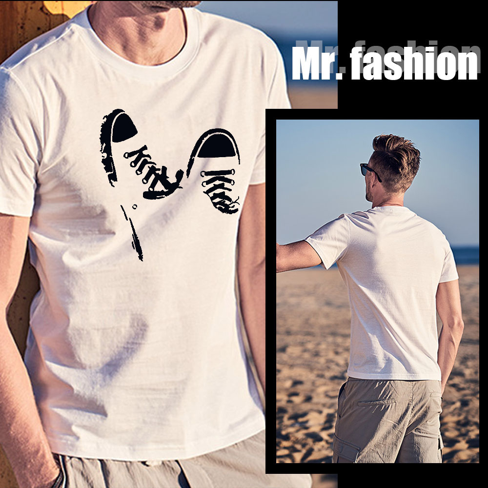 Funny Print Men T-shirt Summer Short-sleeved Casual Weekend Streetwear Hip-hop Outdoor Harajuku Fashion Plus Size Top Tees Male
