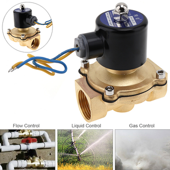 цена на 1 DC 12V Electric Solenoid Valve Pneumatic Valve Brass Body for Water / Oil / Gas