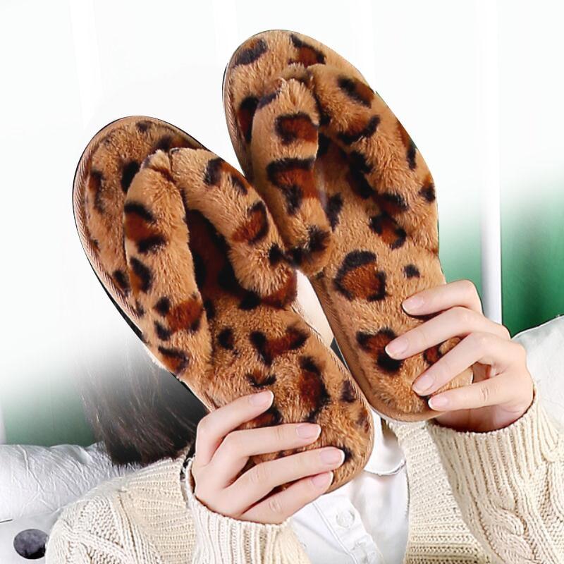 Flip Flops Female Winter Slippers Women
