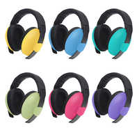 Adjustable Baby Earmuffs Infant Kids Hearing Protector Noise Reduction Ear Protection Ear Muffs